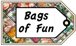 EQI 'Bags of Fun' Quilt-In Opening
