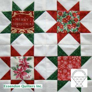 Christmas block by Joy Smith