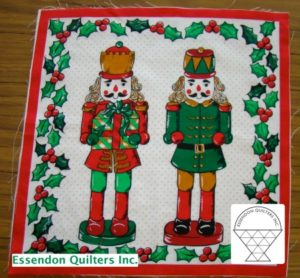 Christmas blocks by Margaret Mourdant