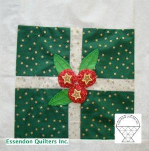 Christmas block by Tina Furci