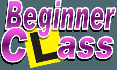 Beginners Class: 2019