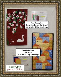 Essendon Quilters 2018 Paint Chip Challenge