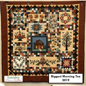 Biggest Morning Tea Raffle Quilt