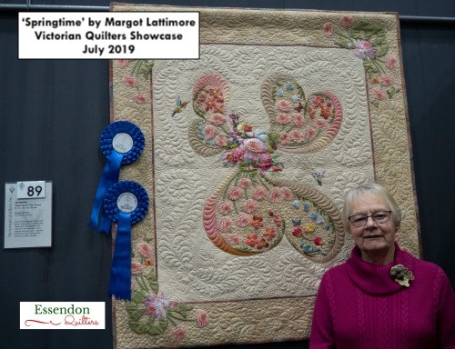 Victorian Quilters Showcase July 2019