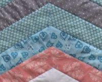 Heather B #1: Granddaughter's quilt