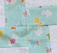 Nadine B #9: Baby quilt