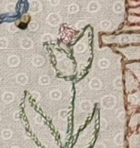Nadine B #12: Embroidery block