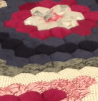 Pinky #6: Conundrum quilting