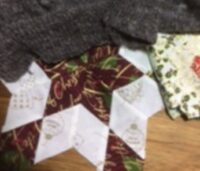 Lorraine C #3: Textile journey