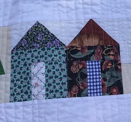 Sue K #4: Village quilt