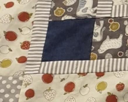 Nadine B #23: Baby quilt