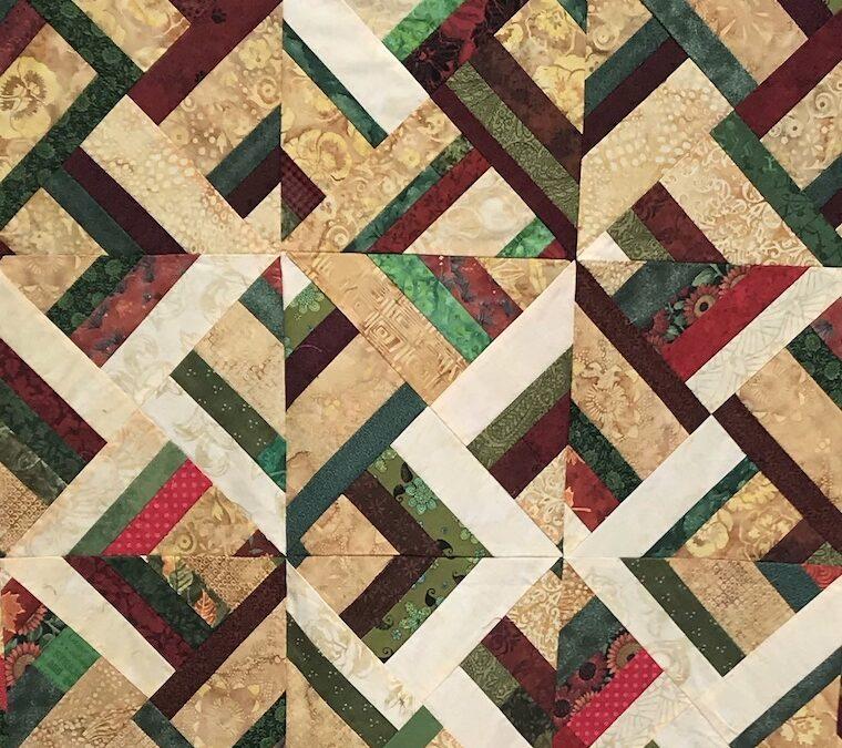 Denise S #21: Lockdown stitching