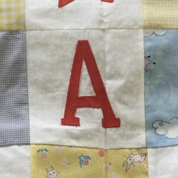 Heather B #12: Cot quilt